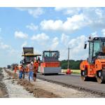 Дорожные работы в Донецкой области