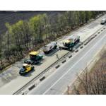 Дорожные работы в Полтавской области