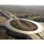 Дорожные работы в Запорожской области