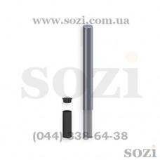 Съёмный столбик из нержавеющей стали СТ-02-Н