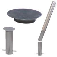 Крышка для цоколя съёмного столбика СТ-02