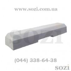 Бетонные колесоотбойники L=1,02м БК-01