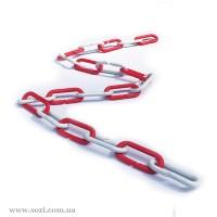 Оградительная пластиковая цепь ПЦ-07 , 1м
