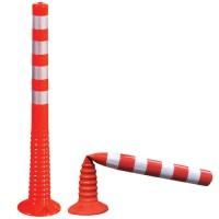 Резиновый дорожный столбик 1метр - ДС43