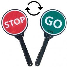 Ручной дорожный знак stop go ДЗР-01