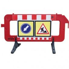 Дорожные пластиковые ограждения со знаками ДБ-05-2000+