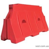 Водоналивной барьер ВБ-05-1500 красный