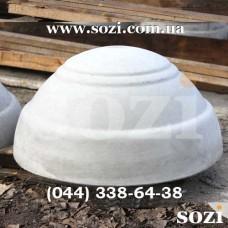 Полусфера бетонная уличная СБ-05Д