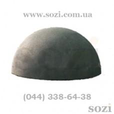 Бетонная полусфера СБ-05-500х250мм (80кг)