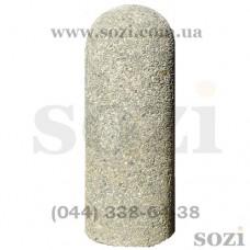 Тротуарный бетонный столбик СБ-07 фактурный