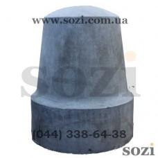 Столбик бетонный СБ-08 массивный