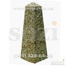 Бетонный столбик 6 граней с мраморной крошкой СБ-04
