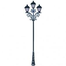 Опора освітлення з 3 ліхтарями ФС-03-1 3,7 м