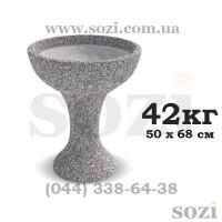Клумба бетонная вазон цветочник  КБВ-03 Киев, Одесса, Львов, Харьков, Днепр