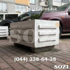 Клумба бетонная вазон цветочник КБ-08