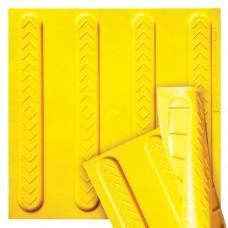 Полиуретановая тактильная плитка направляющая ПТ-12 - низкая цена в грн, в т.ч. с НДС, доставка по Украине