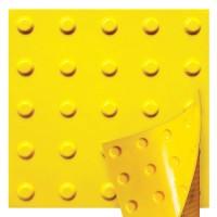 Полиуретановая тактильная плитка предупреждающая ПТ-14, 300х300
