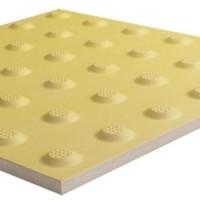 Тактильная плитка керамическая предупреждающая ПТК-04 300х300