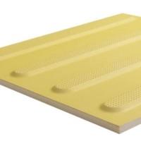 Тактильна плитка керамічна напрямна ПТК-02 300х300