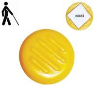 Тактильная точка предупреждающая самоклеющаяся ПТ24-С, 1 шт