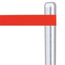 Световозвращающая наклейка для столбиков - красная призма Oralite