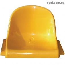 Сиденья для трибун, пластиковые сидушки со спинкой - СТ-02