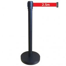 Стойка ЛТМ-01 с красной лентой 2,5 м